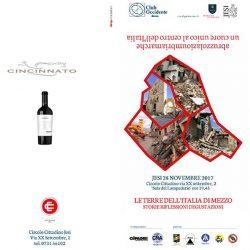 Siamo un cuore unico – Le terre dell'Italia di mezzo: storie, riflessioni e degustazioni | Itinerarinelgusto