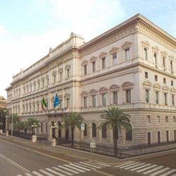 Palazzo Koch a Via Nazionale, la sede della Banca d'Italia