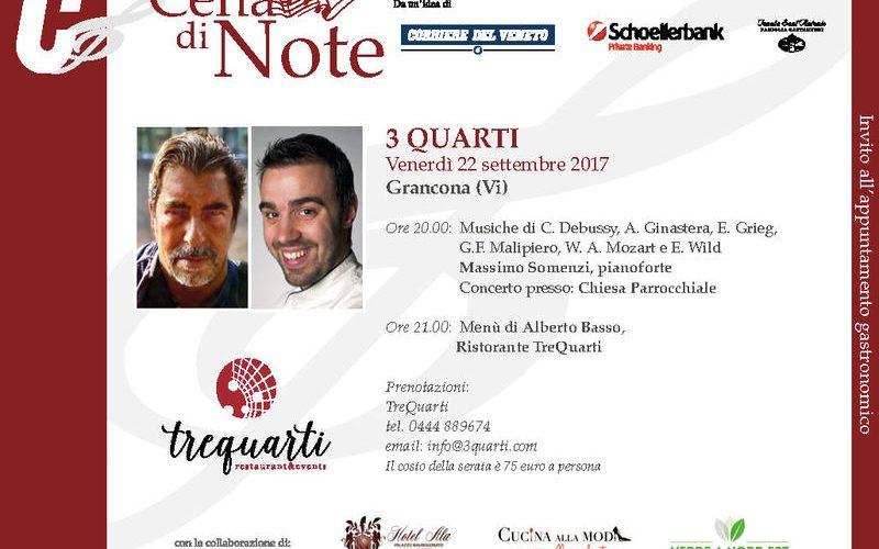 Cena di Note 2017 | Itinerarinelgusto