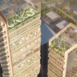 Design von UNStudio als Siegerentwurf für Southbank by Beulah in Melbourne ausgewählt