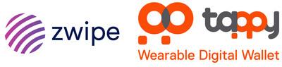 Zwipe et Tappy Technologies lancent un partenariat et un accord de licence portant sur le paiement à l'aide de dispositifs de technologie mettable et biométrique