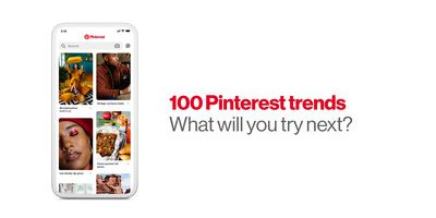 Pinterest presenta Pinterest 100: las principales tendencias que hay que probar en 2019