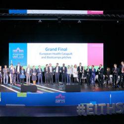 Europas führende Start-ups im Gesundheitssektor in den Bereichen Biotechnologie, Medtech und digitale Gesundheit gewinnen beim EIT Health Summit Geldpreise und Anerkennung