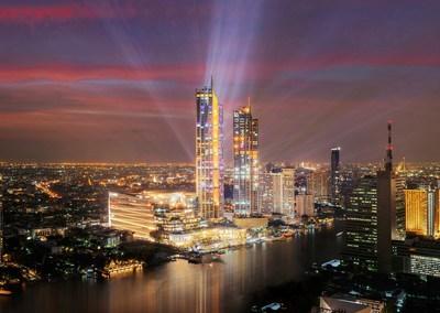 Ouverture d'ICONSIAM, plus grand ensemble de développement immobilier commercial en Thaïlande, avec un lancement impressionnant de 30 millions USD
