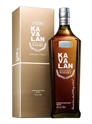É hora de experimentar o Distillery Select da Kavalan