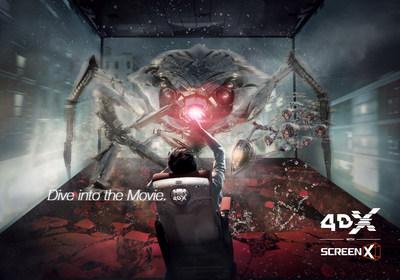 Erste '4DX with ScreenX' in Europa eröffnet in Frankreich mit 'Ant-Man and The Wasp' von Marvel Studios