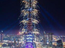 Les Émirats arabes unis fascinent le monde avec le spectaculaire gala d'Emaar pour le réveillon du jour de l'An 2019 dans le centre-ville de Dubaï