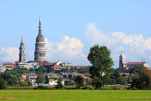 Novara e la cupola di San Gaudenzio