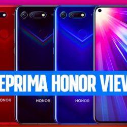 Honor View 20, il nuovo top di gamma ha il buco nel display, una fotocamera 3D da 48 mpx e AI