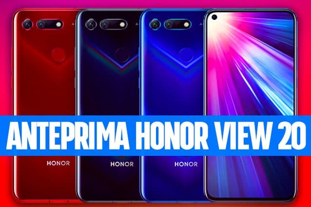 Honor View 20 256GB Phantom Blue