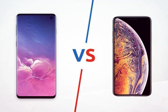 I Samsung Galaxy S10 sono meno potenti dell'iPhone XS, nei test di Geekbench