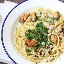 Pasta e fagioli con le cozze: la ricetta napoletana