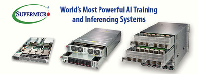 Supermicro Offers End-to-End Portfolio of NVIDIA GPU Systems