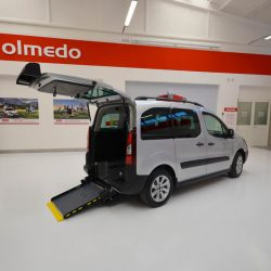 L'allestimento Flexi Ramp su Peugeot Partner per trasporto disabili